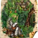 моховой дух леса