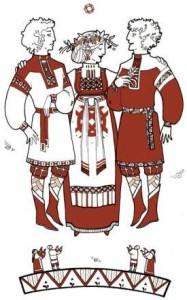 Лада с сыновьями Лелем и ПОЛЕЛЕМ, Юлия Никитина