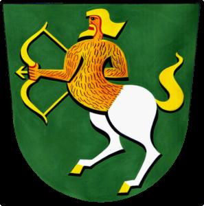 китоврас-Герб муниципалитета Дешна Чехия