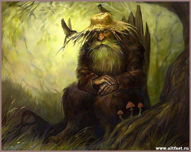 имена хозяев духов леса и воды у коми охотников и рыбаков