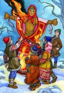 МАСЛЕНИЦА, А.Мазин