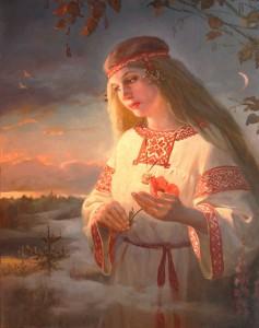 Заря-Зарница, Худ.А.Шишкин