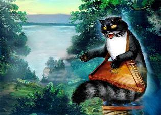 кошки-кот баюн-славянские мифы