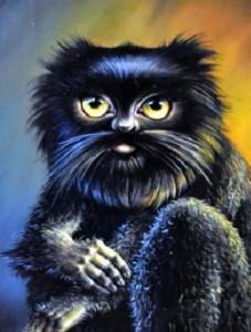 кошки-обдериха- банный дух славян- черников
