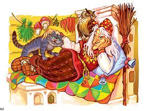 кот-баюн-сказочный славянский-служаев виктор
