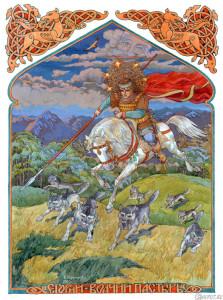 Егорий - волчий пастырь, Худ.В.Корольков