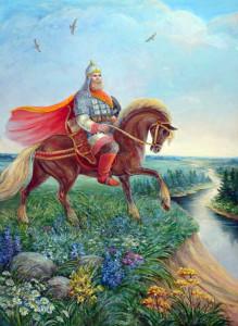 Святогор, Худ.Нонна Кукель