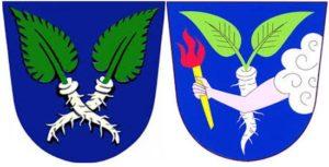 Хренна гербах  Крушовице и Хлизов