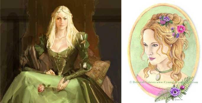 Королевы Зеленого Дома - Изара и Всеслава