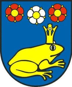 Герб деревни Жабокреки Словакия