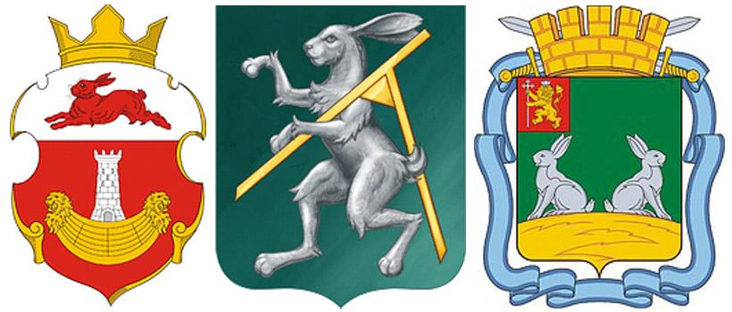 заяц-герб