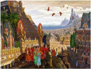 Иванов-Купцы из Орианы прибыли в Атлантиду