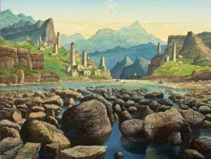 Иванов-Рунные камни Взгляд гор