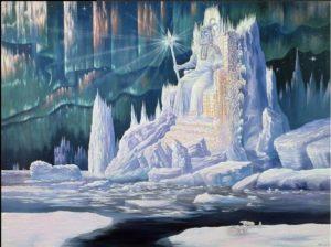 Иванов-Видения Арктики Трон Даждьбога