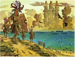 Иванов-Высадка войск Атлантиды на побережье Ликса