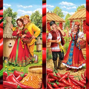 Перец красный, Худ.Инна Кузубова