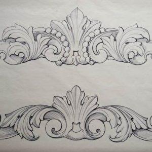 акант-орнамент