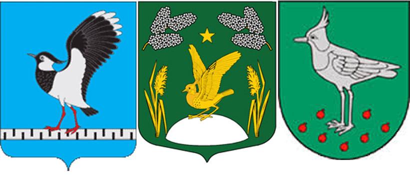 Чибис  на гербе г.Жердеевка, п.Белоостров  и Шаукотас