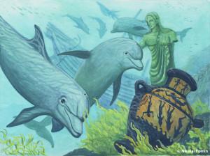 Дельфины, Худ.Н.Фомин