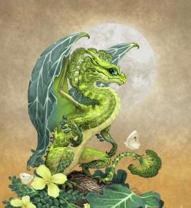 Капустный дракончик
