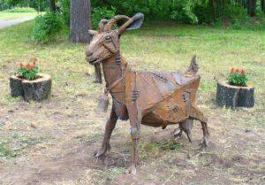 коза - памятник-Ижевск