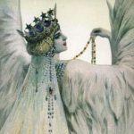 -лебедь белая Мария - худ Соломко-ква