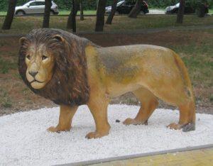 Лев на набережной Геленджика, фото Наты