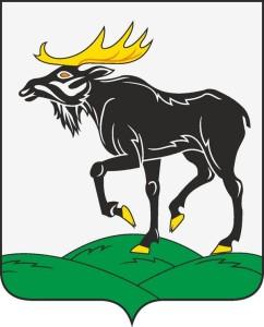 Темный сох- герб Бежаницкого района Псковской области