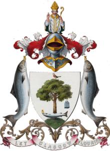 малиновка-лосось-герб Глазго