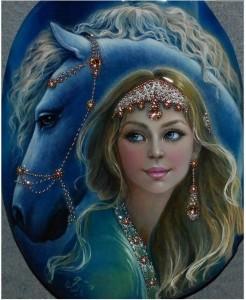 синяя звезда-14 Худ.С.Беловодова