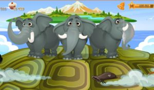 1-слон и черепаха-строение мира -домовята