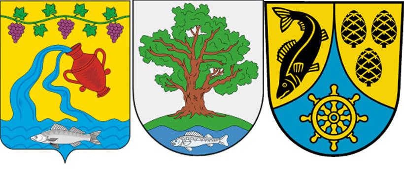 Судак на гербе Курчановского СП, Ладушинского ГО и Вендиц-Риш