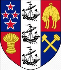 Южный крест на гербе Новой Зеландии