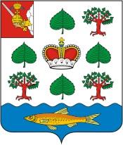 Уклея на гербе Вашкинского района Вологодской области