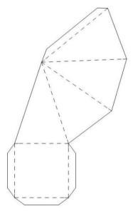 4-гранная пирамида