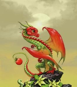 Томатный дракончик