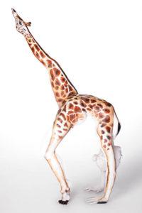 1-боди-арт - жираф