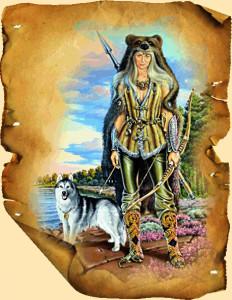 Богиня охоты - Девана