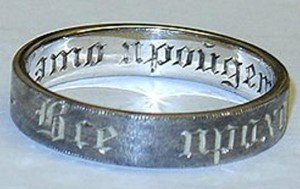 стилизованное кольцо Соломона