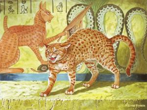 Кошка, Худ.Н.Фомин