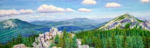 Художник А.Косминский Рипейские горы