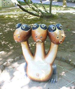 Трех-головый Дракон в Ольгинке, фото Наты