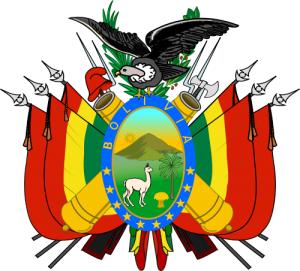 Альпака на гербе Боливии