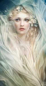 Белая дева, Худ.А.Дитман