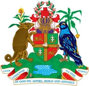Броненосец на гербе Гренады