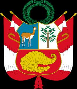 Викунья на гербе Перу