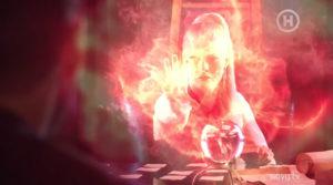 огненная атака-колдуньи