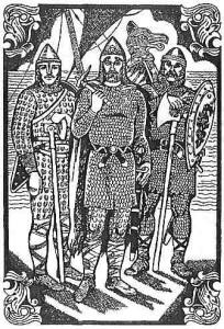 Рюрик, Синеус и Трувор, Худ.Н.Антипова