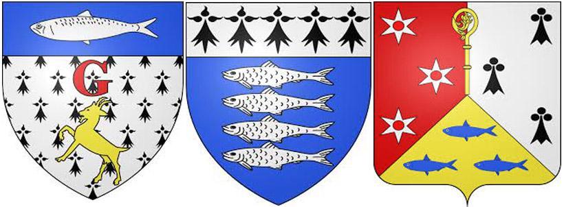 Сардинана гербах  Гавр,  Ла-Тюрбаль и Моелан-сюр-Мер