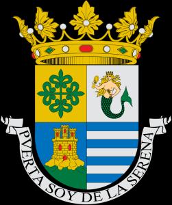 Сирена на гербе городка Вильянуэва-де-ла-Серена